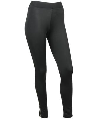Zipper Ankle Sheen Leggings $21.80CAD