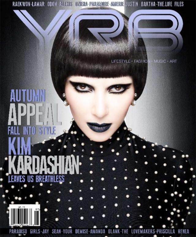 Kim Kardashian for YRB Magazine