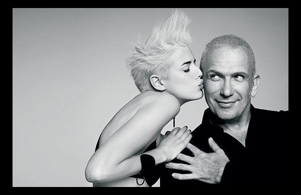 Jean Paul Gaultier with Agyness Deyn