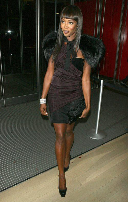 Naomi Campbell at the Black Girl's Rock event