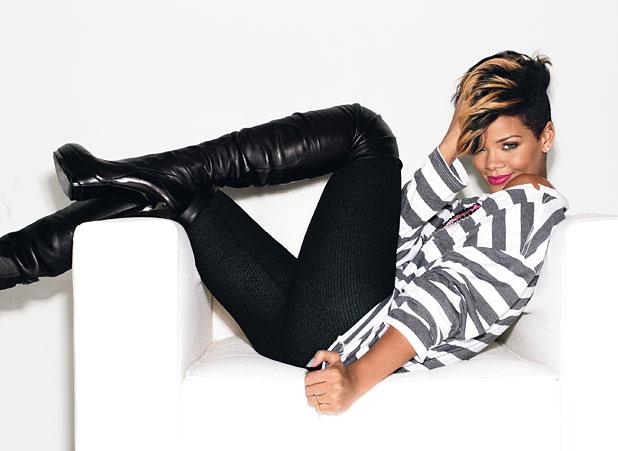 Rihanna for Glamour magazine