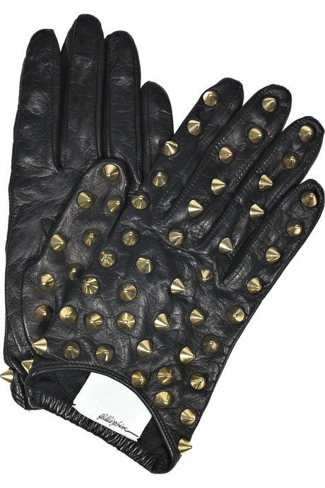 3.1 Phillip Lim studded leather gloves $395