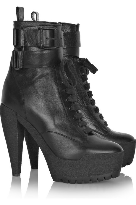 Burberry Prorsum leather ankle boots