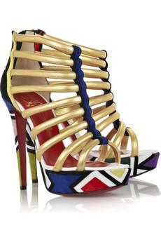 Christian Louboutin Ulona 140 platform sandals $1,695