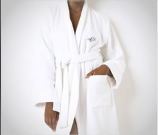 Ralph Lauren create your own short terry robe