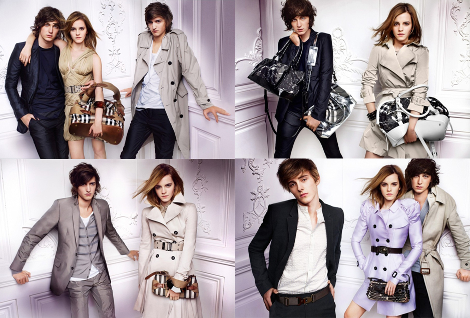emma watson burberry brother. of Burberry and brings her