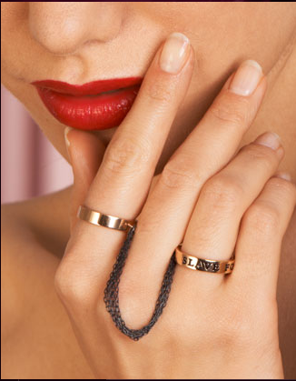 Slave For You Double Ring $300USD