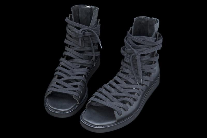 Him: Kris Van Assche Sneaker Sandals