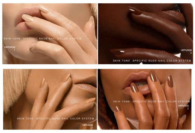 ... nude nail colours that are named just like your favourite makeup.